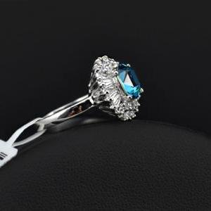 White Gold Plated CZ and Austrian T..