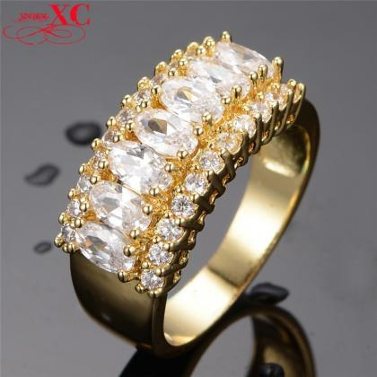Stunning 14KT Yellow Gold Filled Wh..