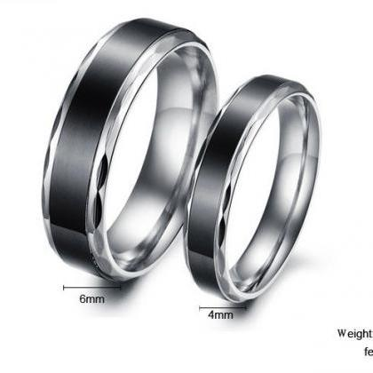 2018 His & Her Eternity Couple Ring..