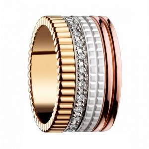 Luxury 4-Toned Stainless Steel Ring..