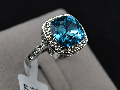 wedding cz heart fashion ring rings sapphire engagement jewelry diamond women gifts promise love shop bijoux shaped femme for