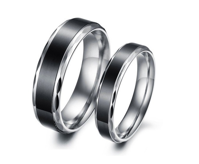 2018 His & Her Eternity Couple Ring Band Set - Promise Ring - Anniversary Ring - Friendship Ring (available from sizes 5 - 10)